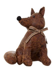Linea Fox leather- look door stop