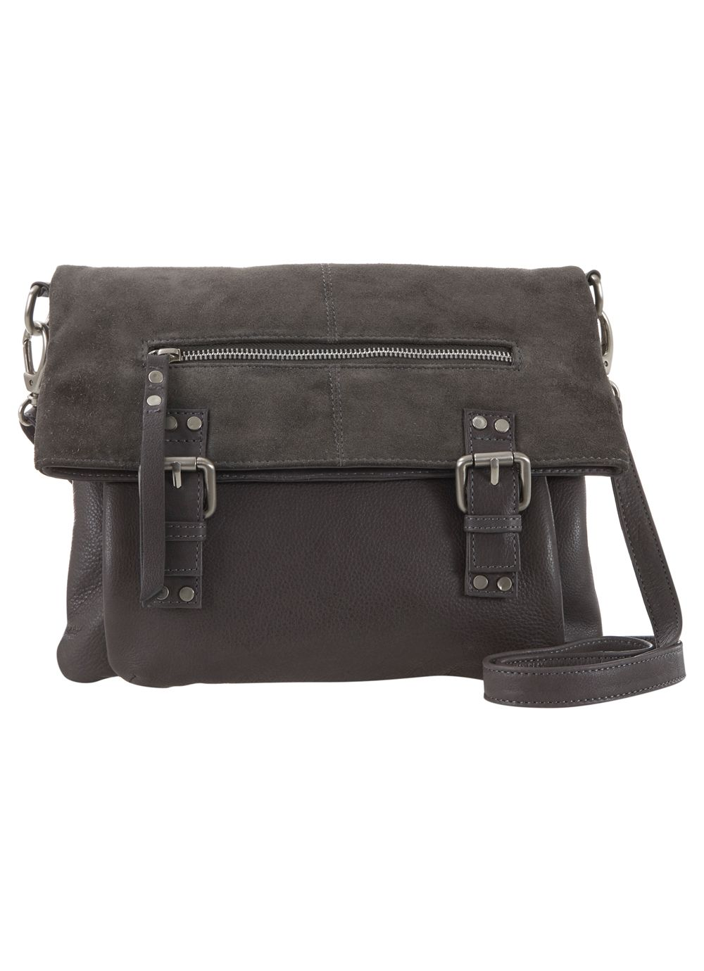Grey freya satchel