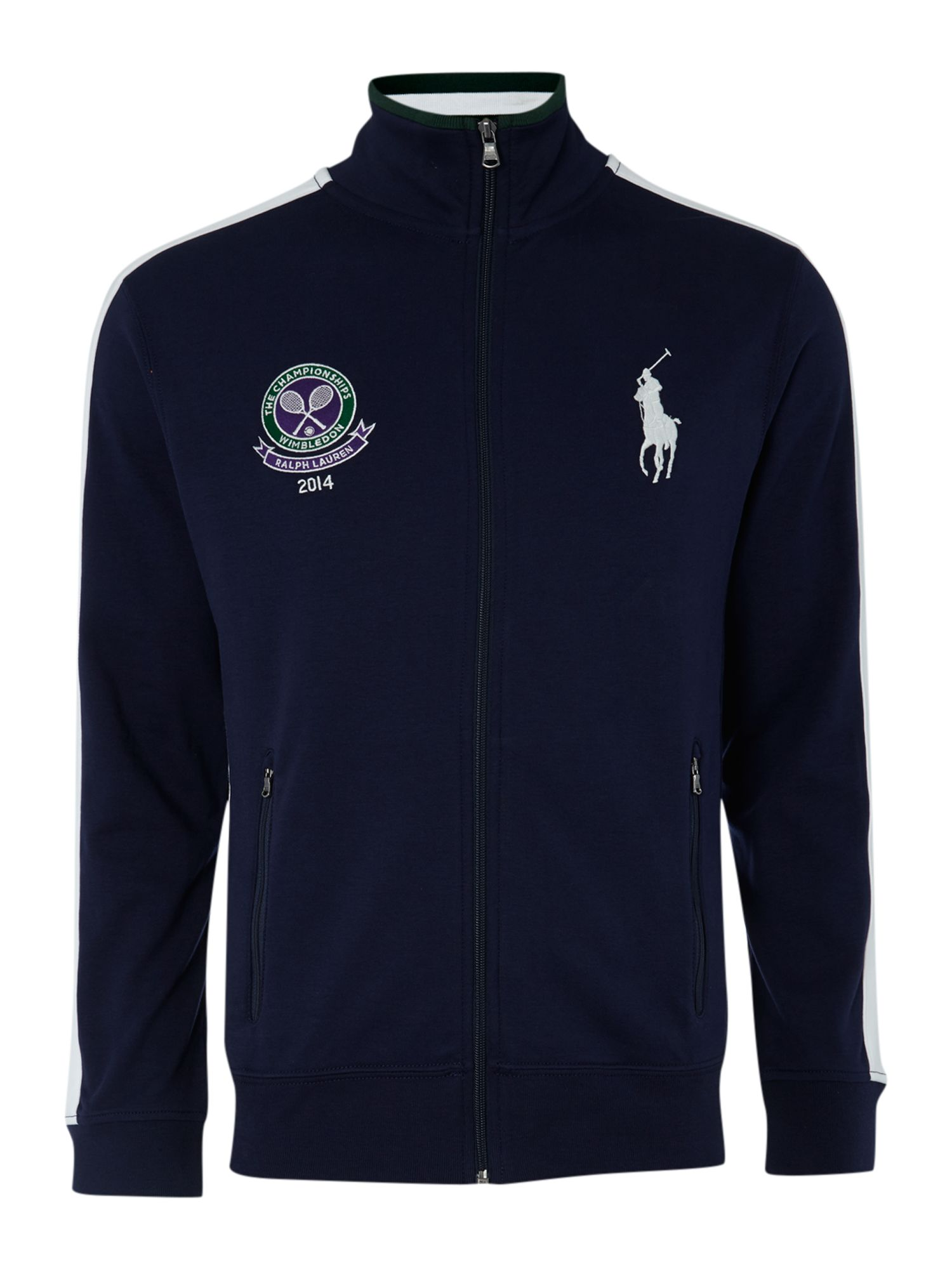 Ralph Lauren Wimbledon Fleece Jacket