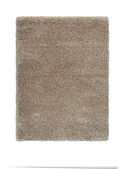 Purity Textures Shaggy Rug - 120x170 Taupe