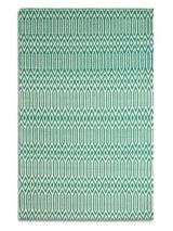 Plantation Rug Co. Serengeti 100% Wool Rug - 60x110 Jade Green