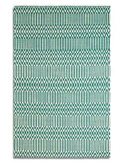 Serengeti 100% Wool Rug - 120x170 Jade Green