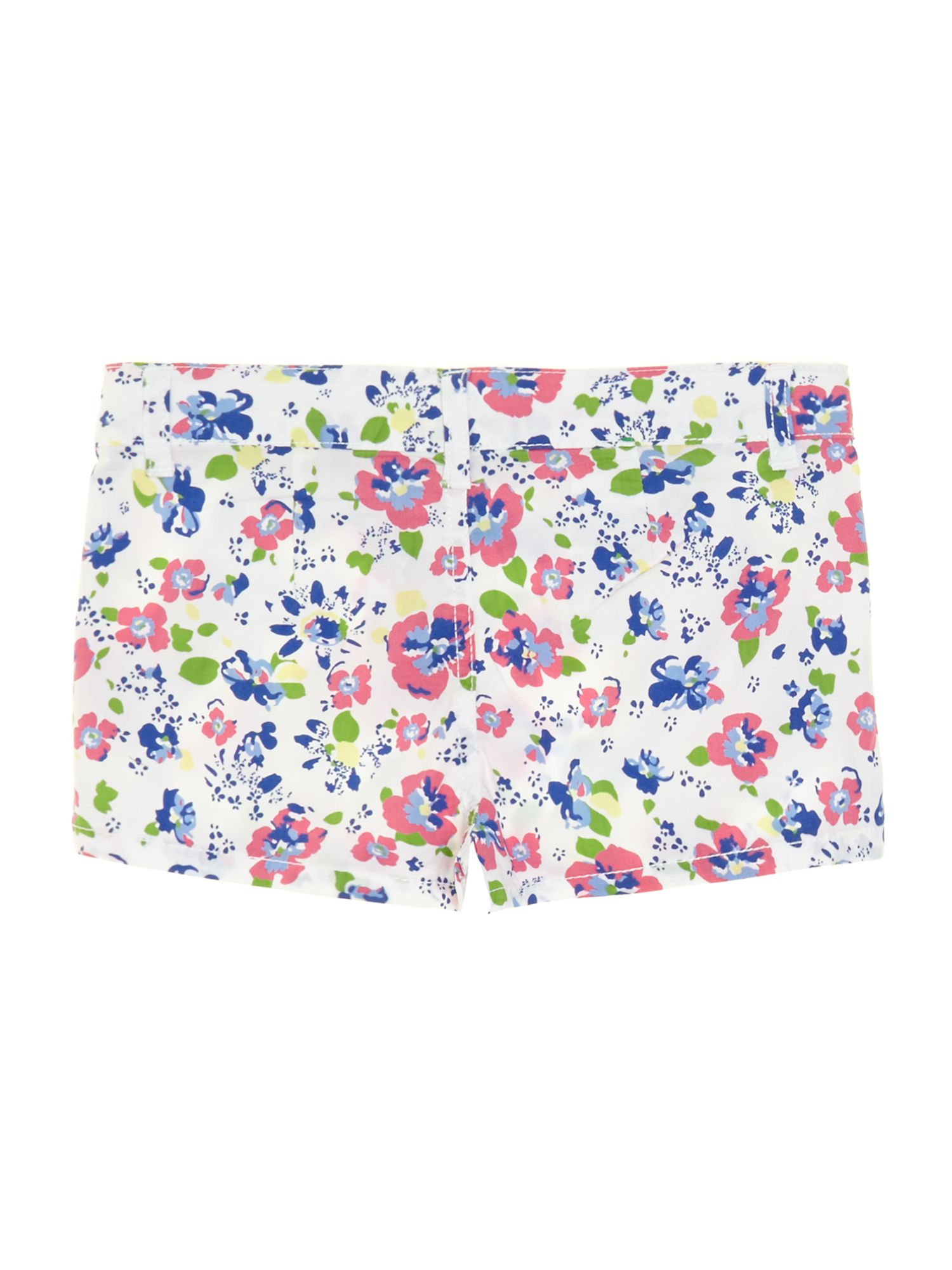 Girls floral shorts
