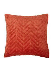 Living by Christiane Lemieux Velvet chevron sham