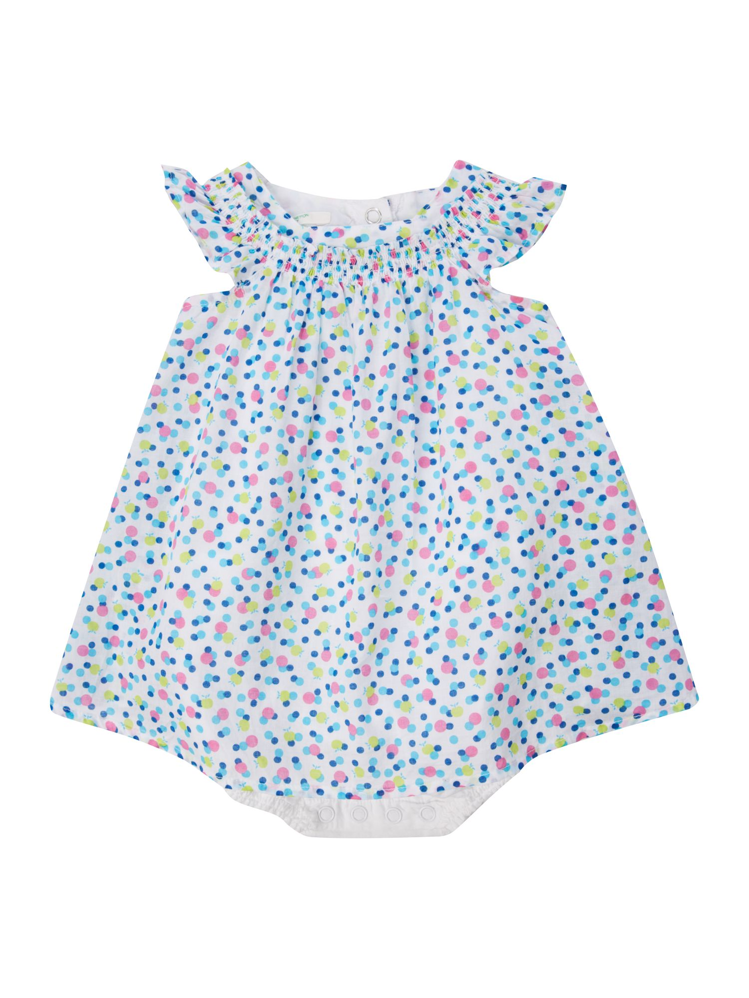 Girls spotty romper