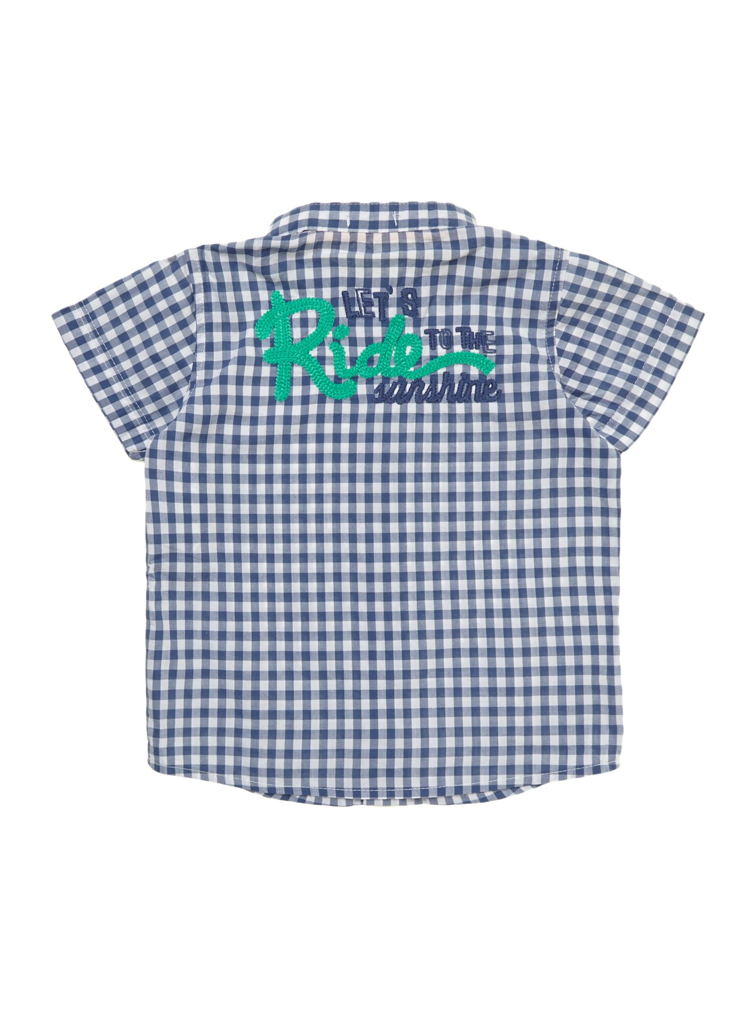 Boys mini check shirt