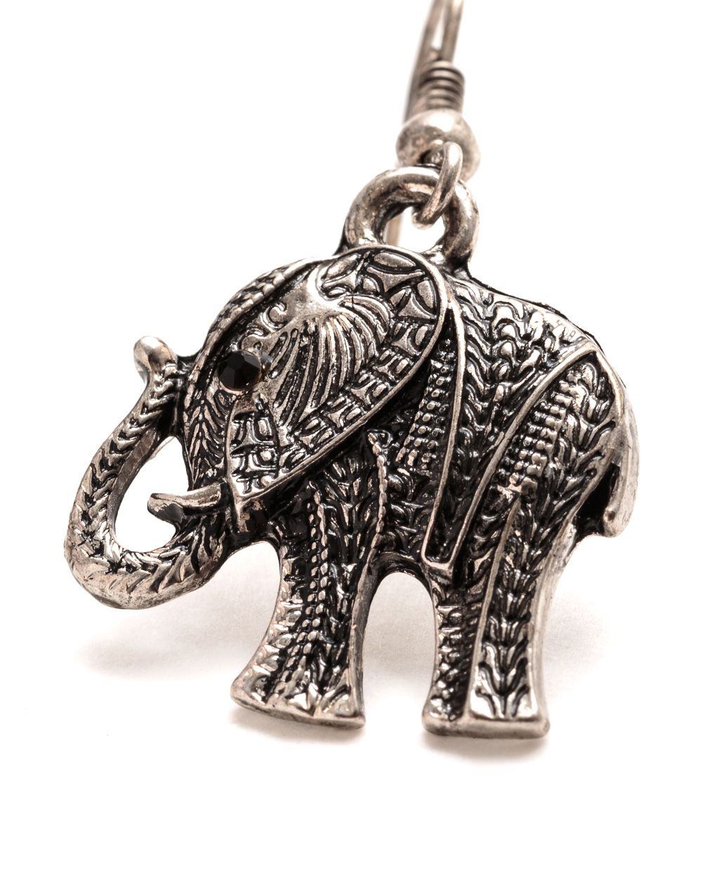 Nell elephant earrings