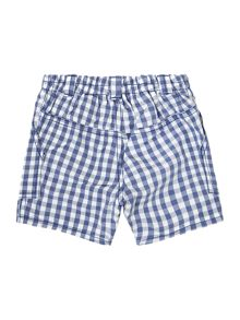 Boys mini check shorts