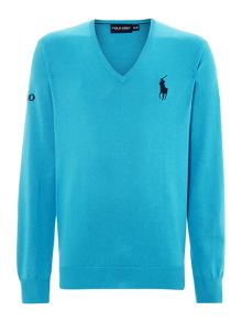 Polo Golf The Open V Neck Sweat