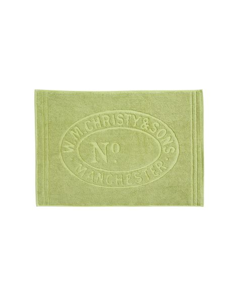 Christy Heritage mat bath mat green tea