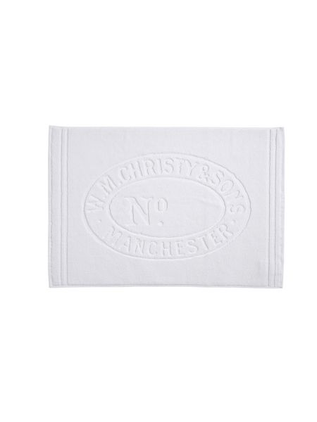Christy Heritage mat bath mat almond