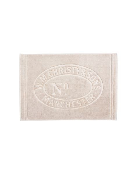 Christy Heritage mat bath mat stone