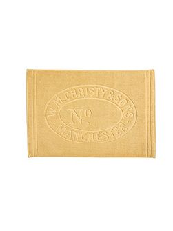 Heritage mat bath mat honey