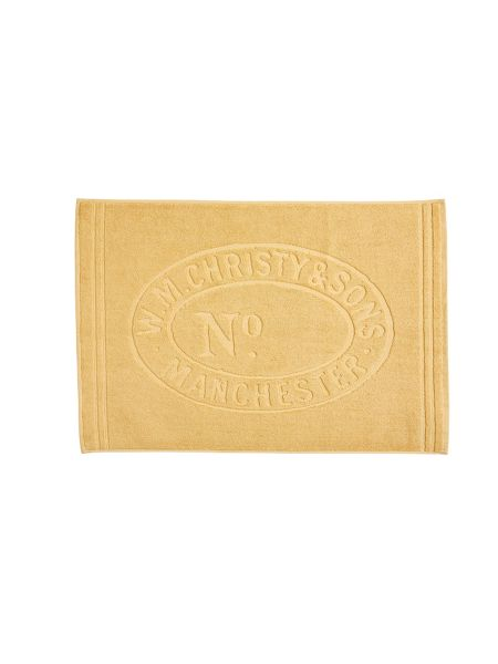 Christy Heritage mat bath mat honey