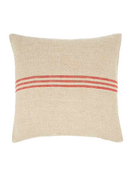 linea linen stripe cushion red house of fraser. Black Bedroom Furniture Sets. Home Design Ideas