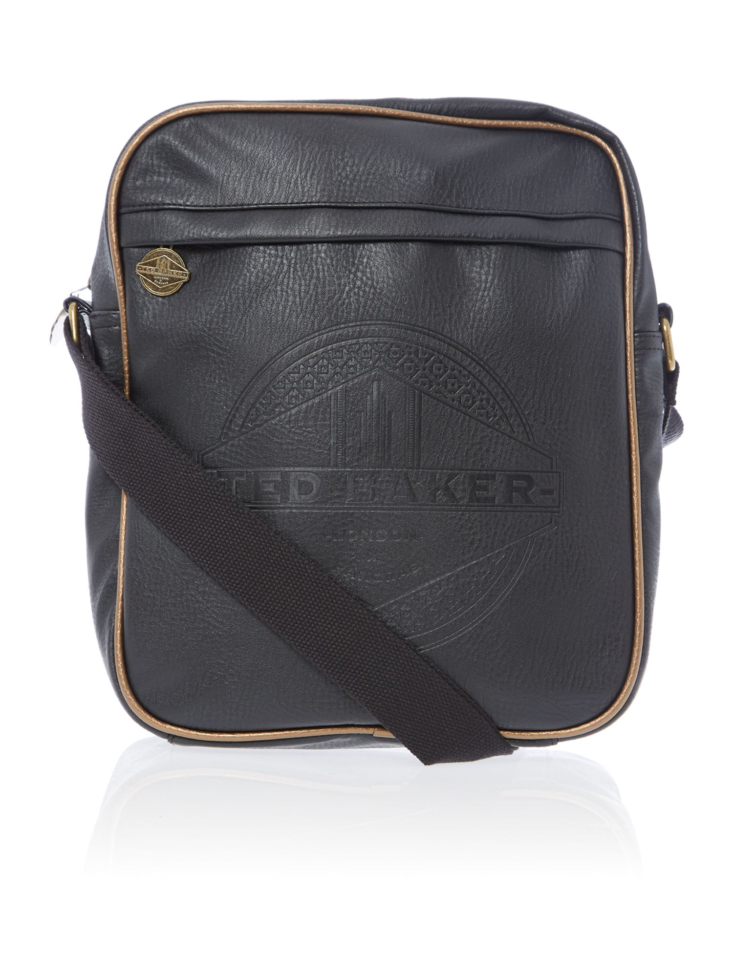 Raltos embossed flight bag