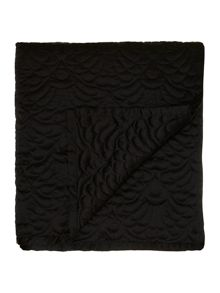 Splendour bedspread black