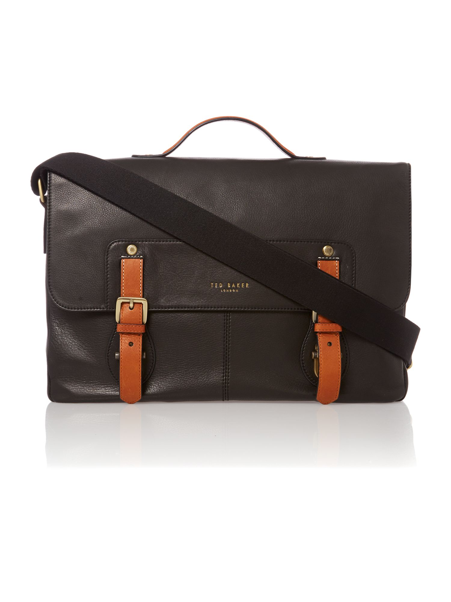 Colour highlight messenger bag