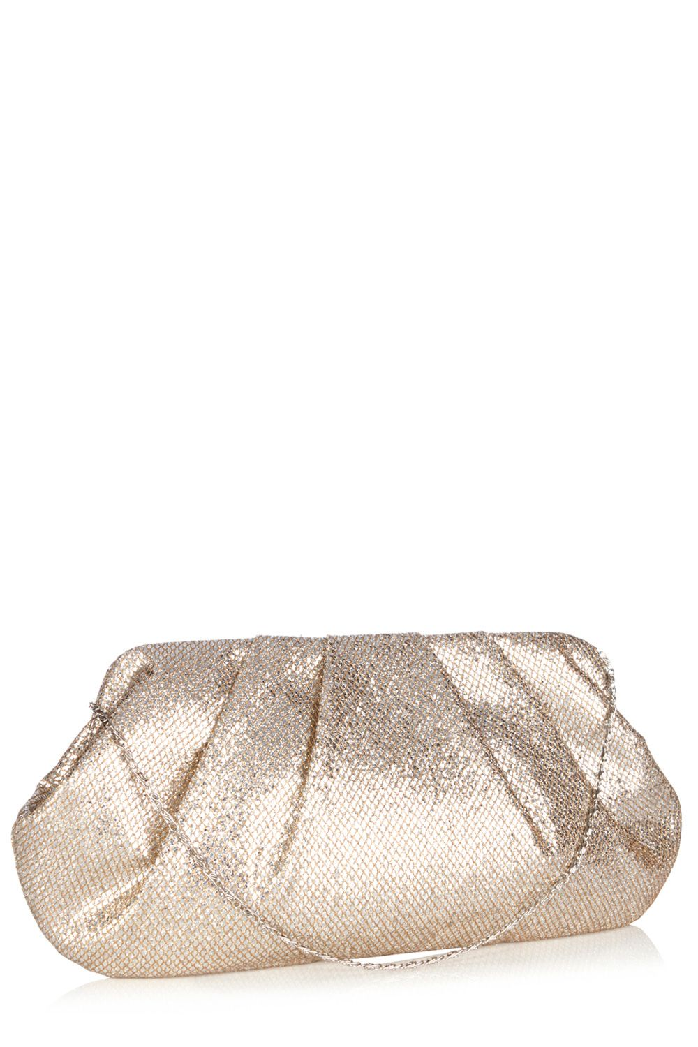 Claire sparkle clutch bag