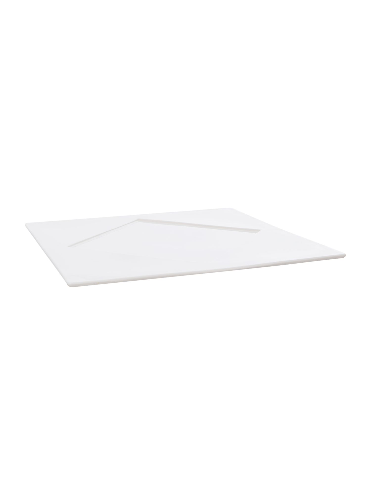 Metrix square platter 30.5cm, diamond