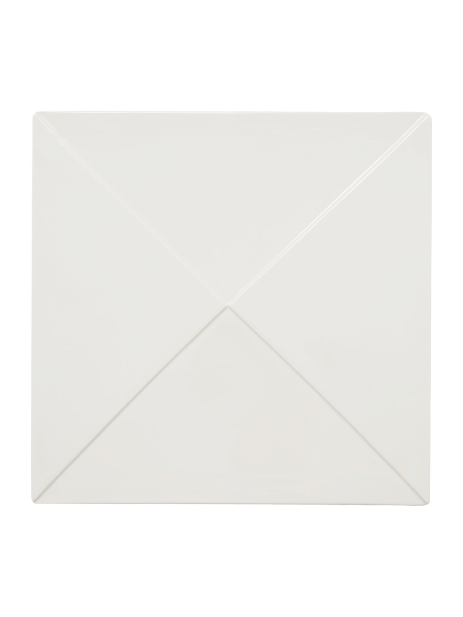 Metrix square platter 30.5cm, triangles