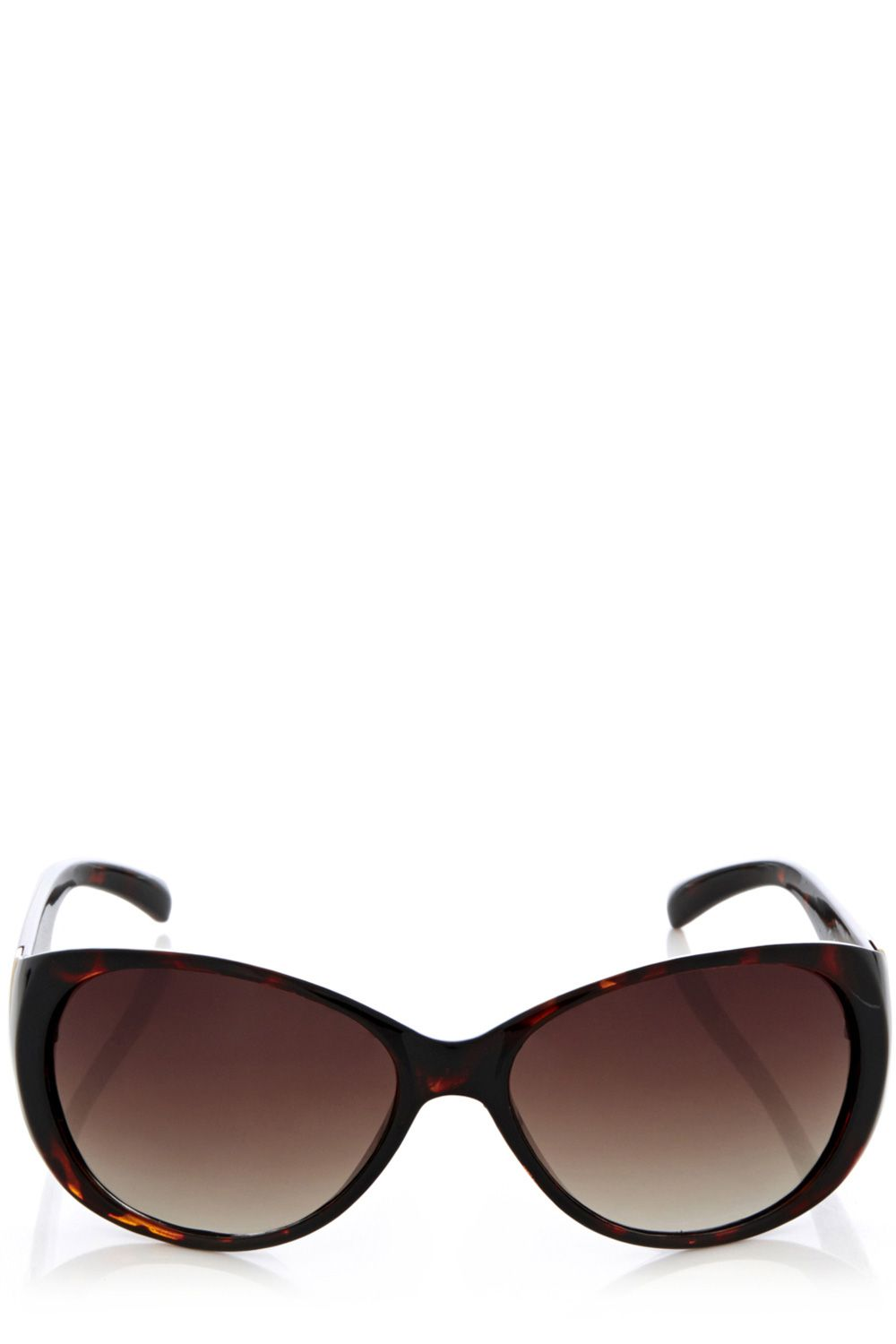 Metal bar basic plastic sunglasses