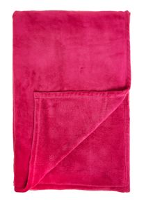 Pink fleece blanket