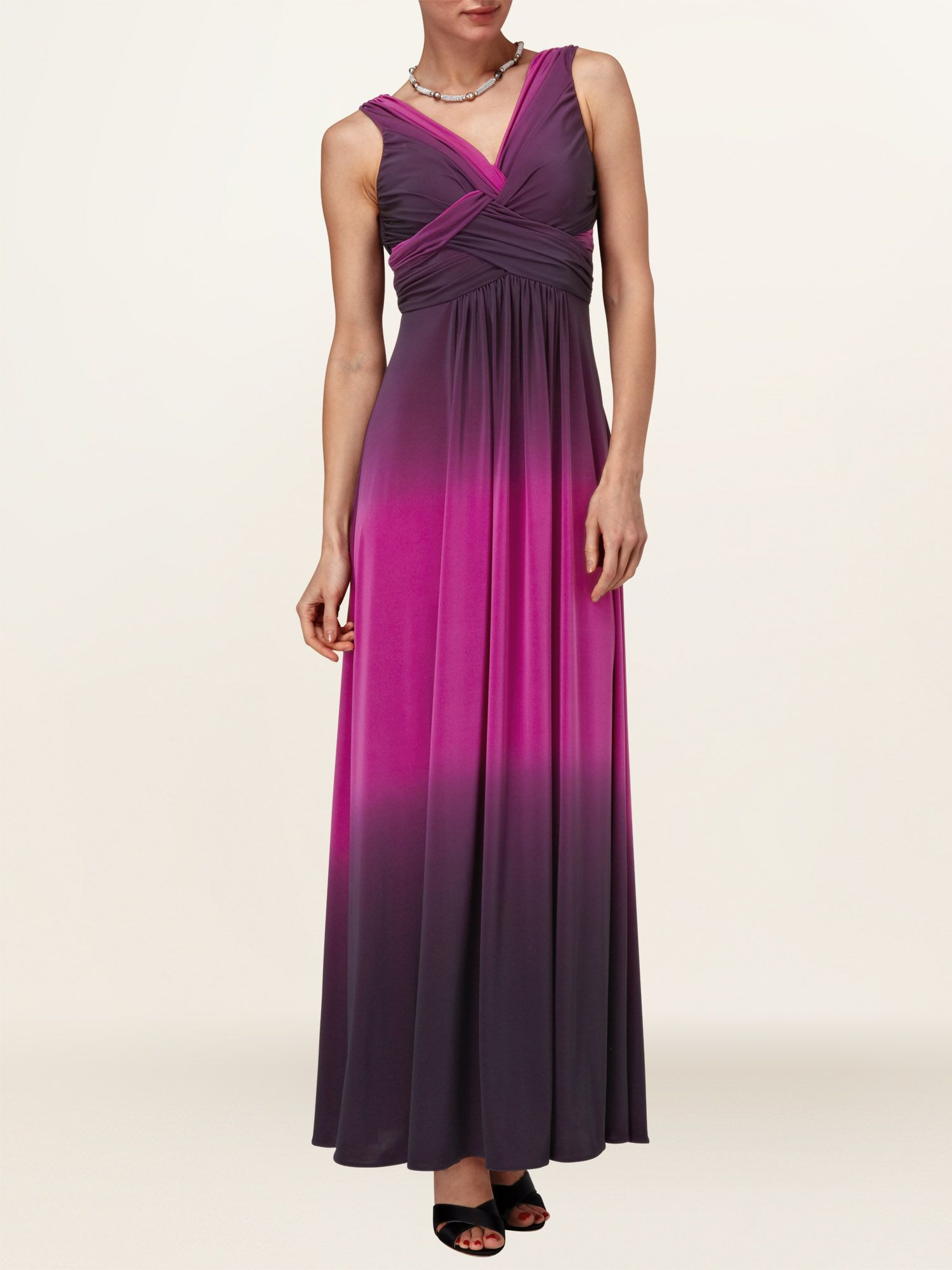 Simone dip dyed maxi dress