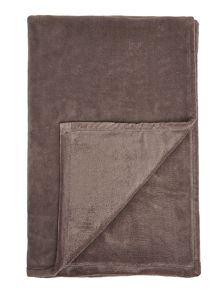 Slate fleece blanket