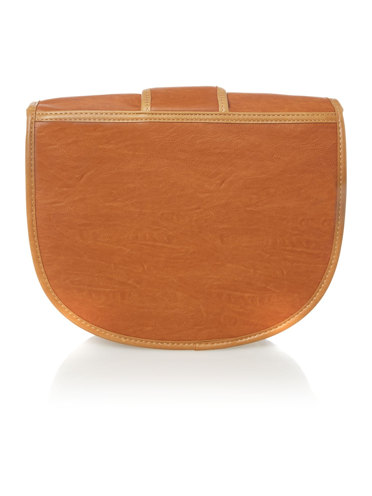 Tatum medium tan cross body bag