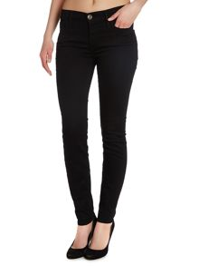 True Religion Abbey skinny jeans in rinse black
