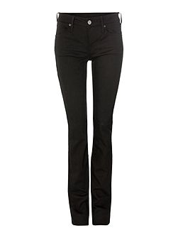 Gina bootcut jeans in rinse black