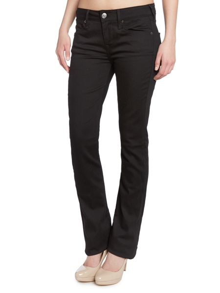 True Religion Gina bootcut jeans in rinse black