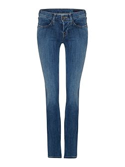 Kayla straight jeans in radiant