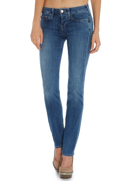 True Religion Kayla straight jeans in radiant