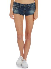 True Religion Joey cut off shorts in old blinston