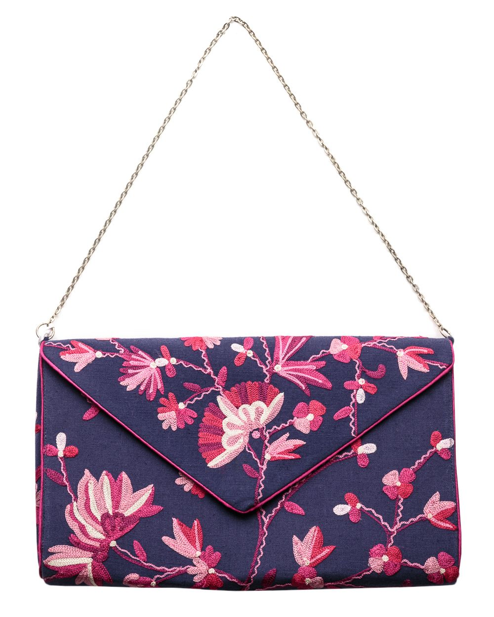 Damask rose florella bag