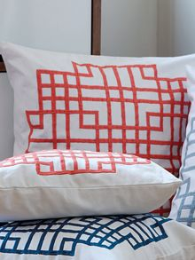 Masson melon cushion
