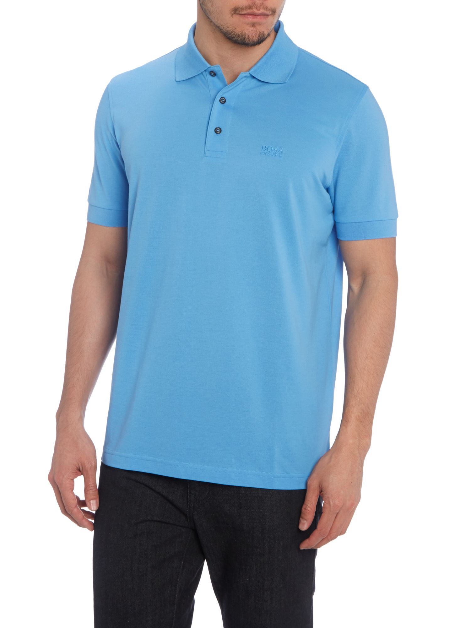 Short sleeve ferrara logo polo shirt