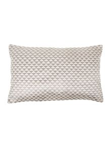 Living by Christiane Lemieux Triangle grey cushion