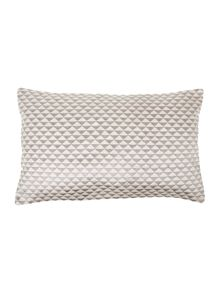 Triangle grey cushion