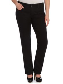 Plus size Secret Push-In slim leg jeans