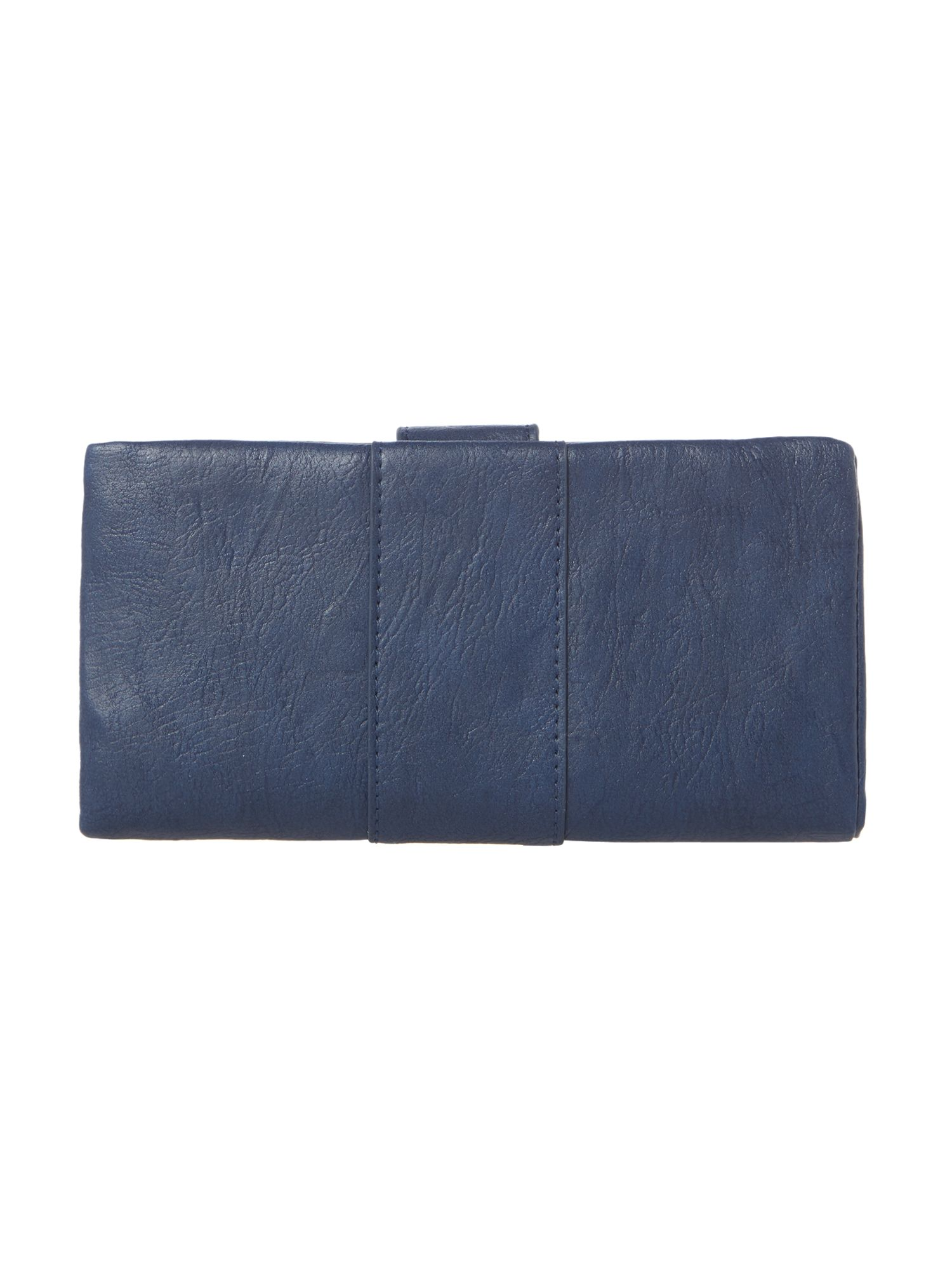 Boris navy large flap over purse