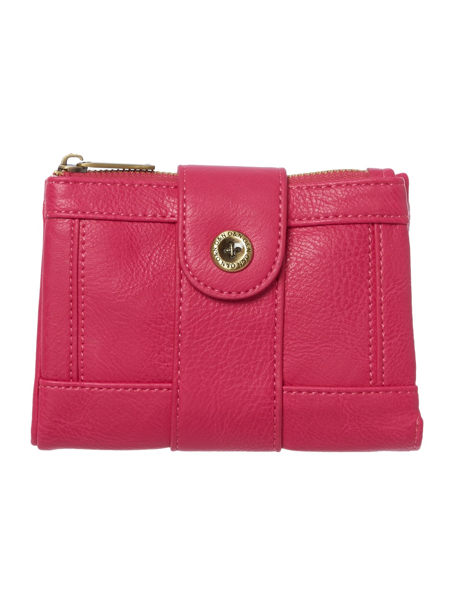 Mick small pink flap over purse