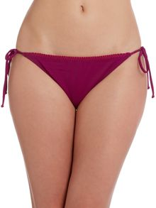 Stitch detail tie side brief