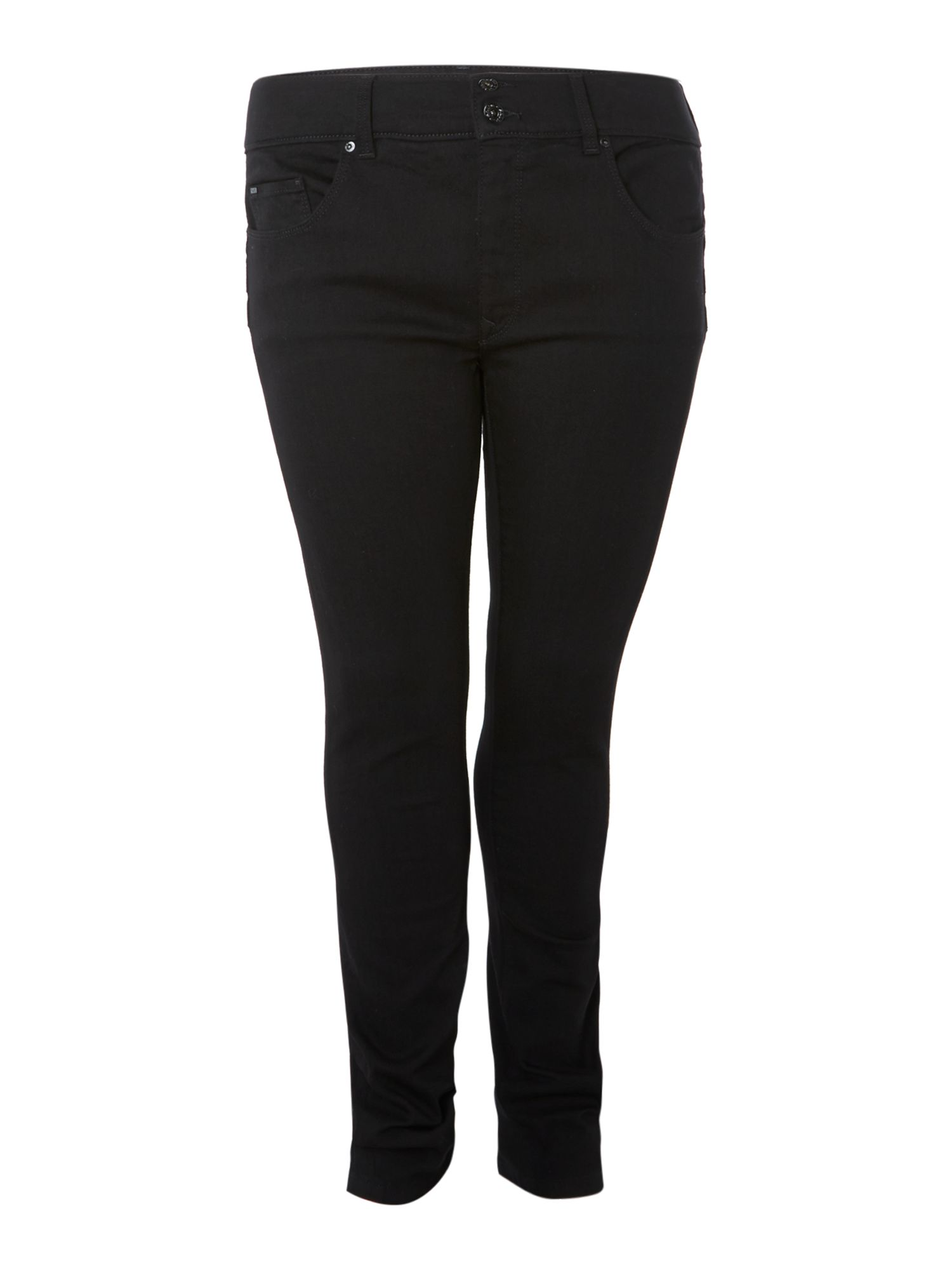 Plus size Secret Push-In skinny leg jeans
