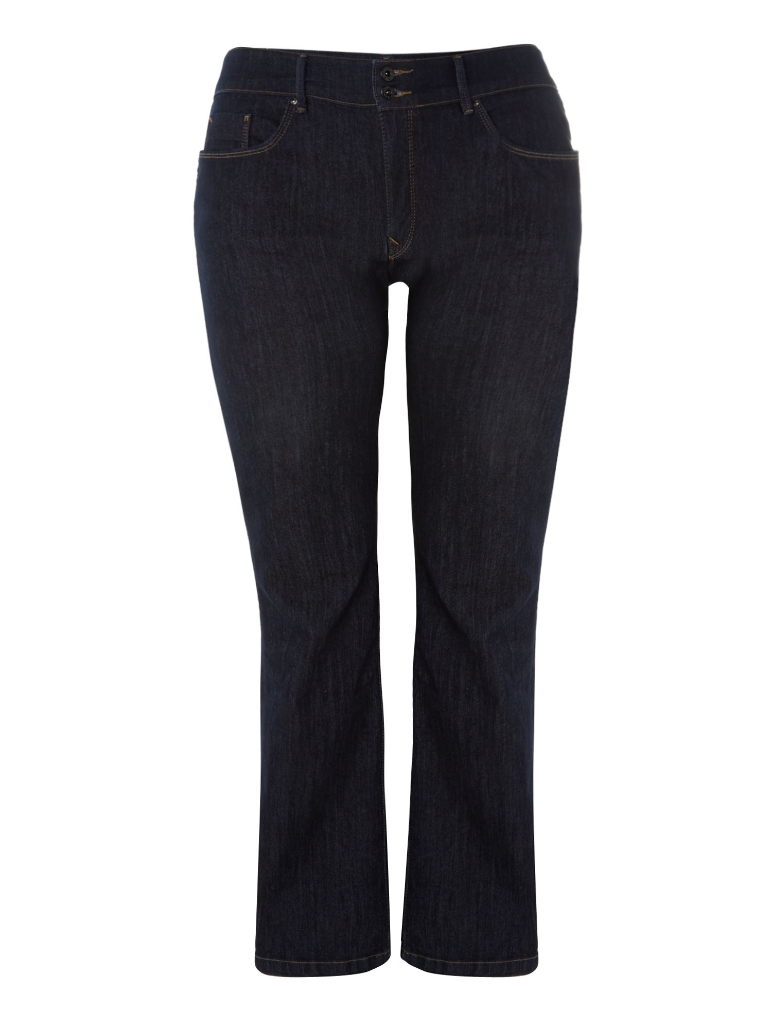 Plus size Secret Push-In bootcut leg jeans