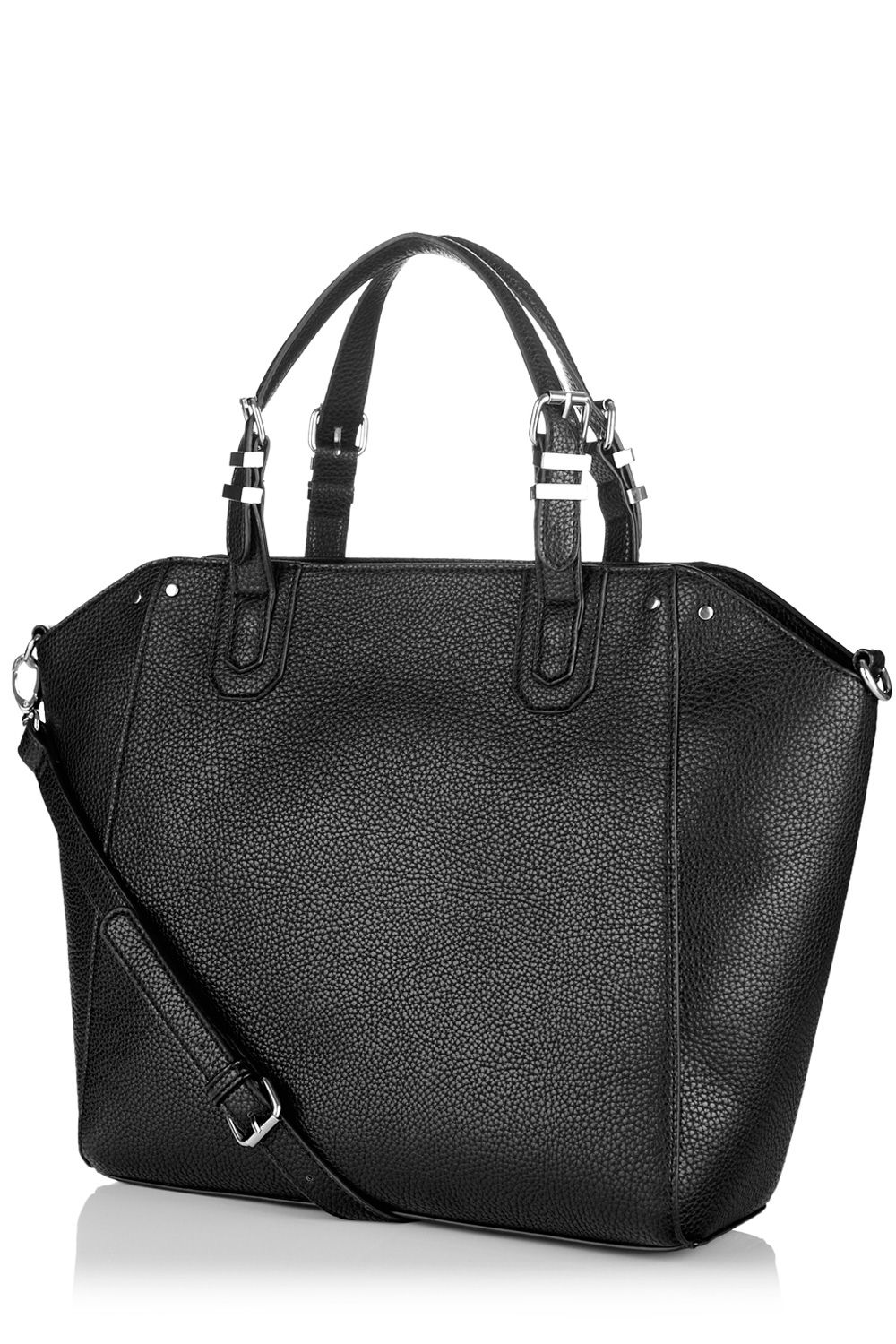 Rivet detail tote bag