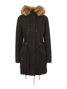 Wilderness fur trim parka