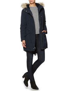 Linea Weekend Wilderness fur trim parka